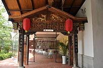 上古文化艺术馆一角