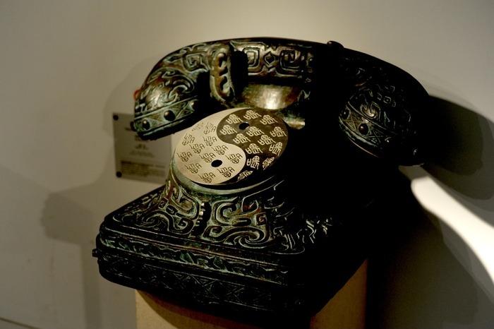 石刻的电话机 雕塑工艺品高清图片下载 编号3009637 红动网