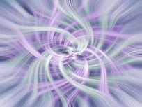 蓝紫色流动线条背景
