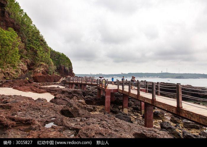 涠洲岛火山岩景区图片