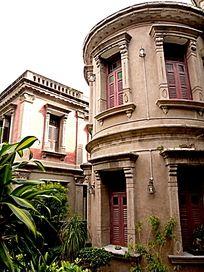 鼓浪屿的别墅 建筑
