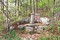 黄山春  开山和尚墓