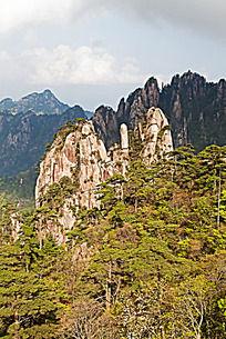 黄山春  清凉台的山峰