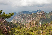 黄山春  清凉台景观