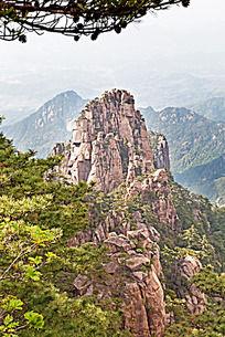 黄山春  清凉台山峰景观