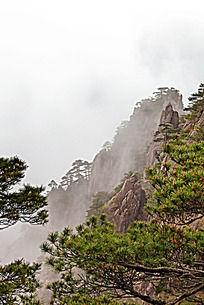 黄山春  云雾升腾