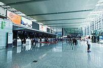 上海虹桥机场航站楼大厅