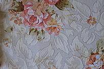 树叶刺绣布料贴图