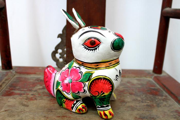 小兔子泥塑图片素材下载(编号:3022141)