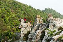 柏溪燕山的岩石地貌