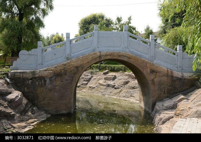 单孔石拱桥