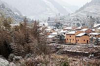 冬季的土楼村落
