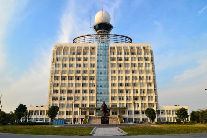 南京信息工程大学的气象楼