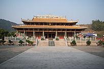 气势雄伟的孔庙大殿