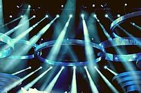 舞台的灯光