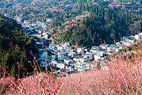 歙县卖花渔村的村落