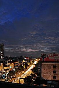 城市的夜晚