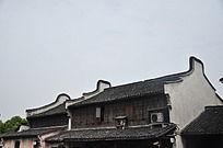 徽式建筑古屋顶