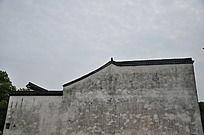 老房子的墙壁