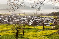 鸟瞰黟县卢村