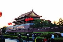 晨光中的北京天安门城楼