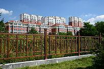 丰满发电厂住宅区围栏