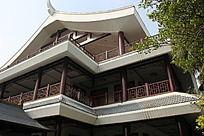 古典建筑楼亭一角