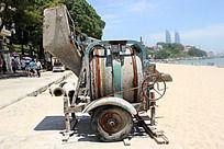 淘沙工具车