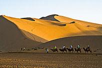 沙漠和骆驼