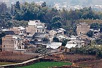 皖南徽派民居村落