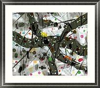 抽象画 装饰画 抽象油画
