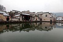黟县宏村月昭的主体建筑