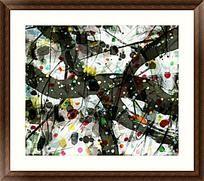 装饰画 酒店抽象画 抽象油画