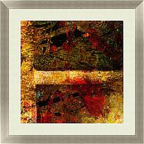 抽象 油画