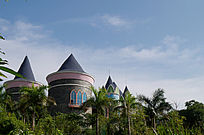儿童乐园城堡造型建筑