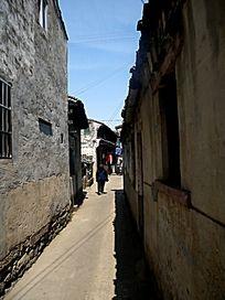 古镇的街道
