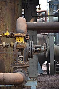 旧工业管道