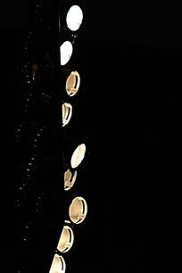 舞台灯光照明 侧光