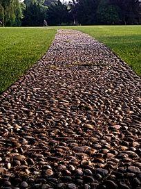石子路 小径 健身道
