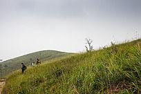 下山的驴友