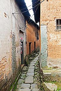 村落石板道路