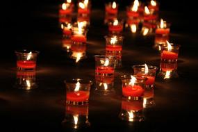 地球一小时点燃的蜡烛