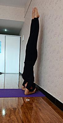 瑜伽动作之倒立