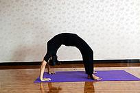 瑜伽动作之铁板桥