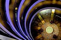 上海世博会沙特馆 内景 几何图形设计