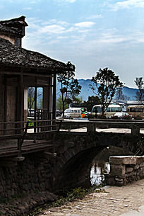黟县卢村村口建筑