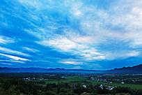 西武岭的晨光