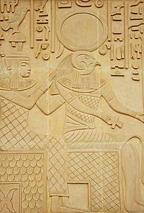 古埃及风格浮雕装饰图案