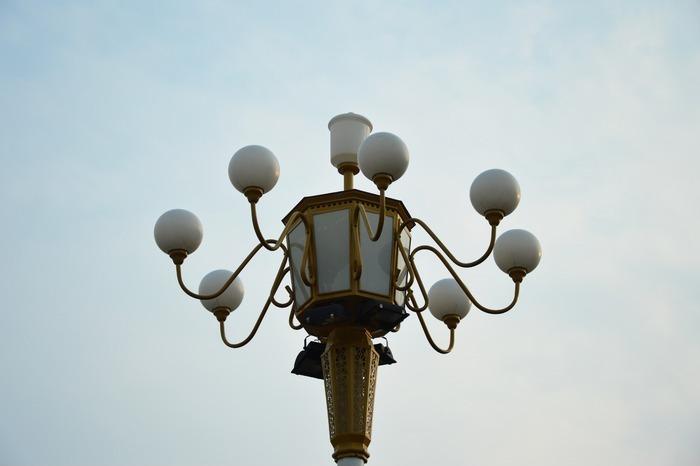 福清儿童手工制作路灯
