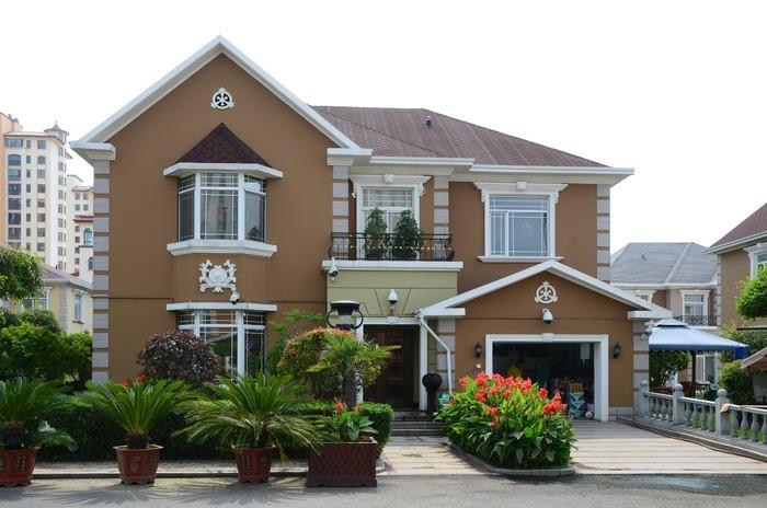 欧式独栋别墅图片